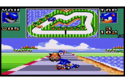 Sonic Drift 2 (Sega Game Gear) gameplay - YouTube