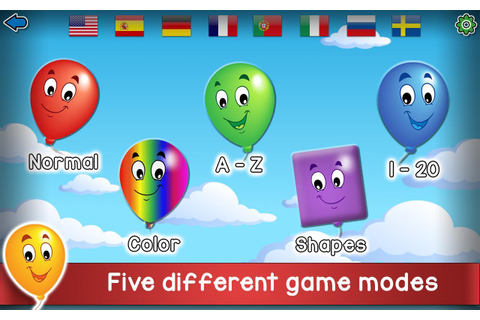 Kids Balloon Pop Game Free 🎈 for Android - APK Download