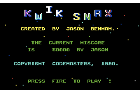 Download Kwik Snax - My Abandonware