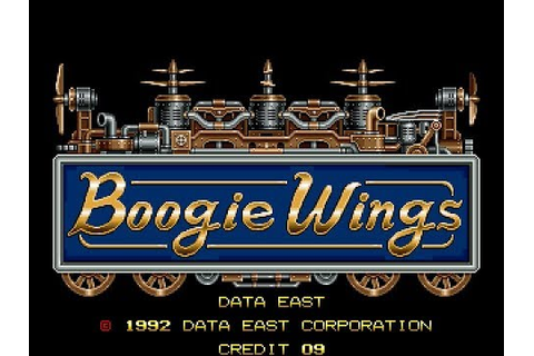 Boogie Wings (1992) - (Full Game) Arcade MAME Longplay ...