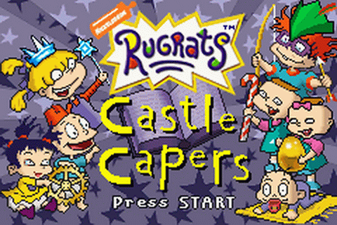 Play Rugrats - Castle Capers Nintendo Game Boy Advance ...