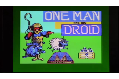 One Man and his Droid - Amstrad CPC - YouTube