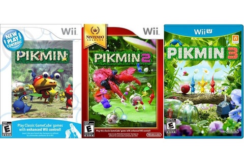 Pikmin Trilogy 1 2 3 Combo Pack [Nintendo Wii & Wii U ...