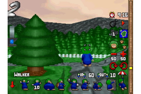 3D Lemmings – Game Art and Screenshots Gallery