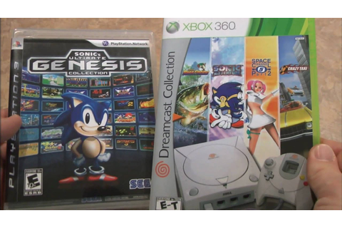 Classic Game Room - DREAMCAST COLLECTION vs. GENESIS ...
