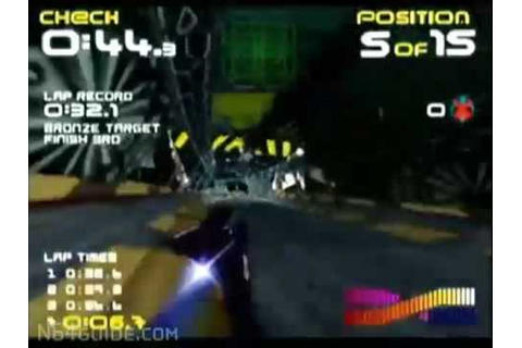 Wipeout 64 - N64 Gameplay - YouTube