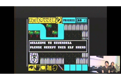 ZX Spectrum games (the Hobbit, Deathchase) - YouTube