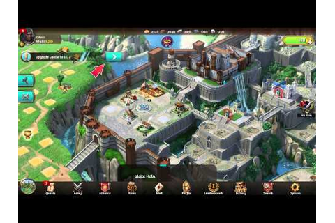 March of Empires The Brand new Game from Gameloft - YouTube