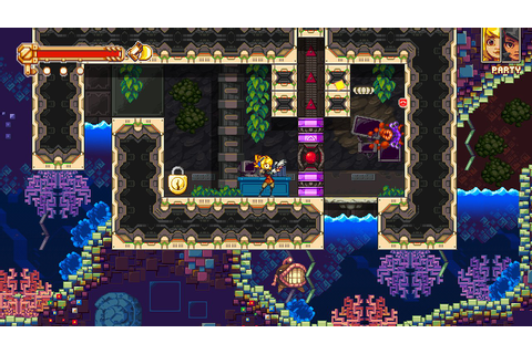 Boss Heavy Platformer Iconoclasts Hits PS4, PS Vita 23rd ...