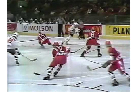 1979 Challenge Cup Game 2 Goals - NHL vs USSR - YouTube