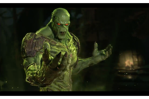 Injustice 2 gets new character Swamp Thing - Yahoo India ...