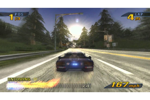 Burnout 3 Takedown Full HD gameplay on PCSX2 - YouTube