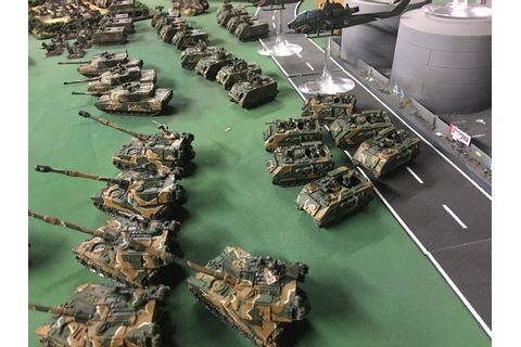 Rally Round the Flag: Team Yankee 6mm - Forces Complete?