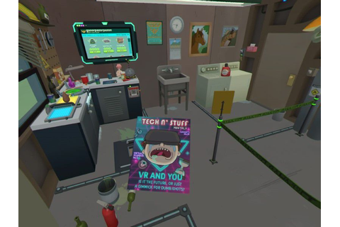 Rick and Morty: Virtual Rick-ality for PSVR | PC Review