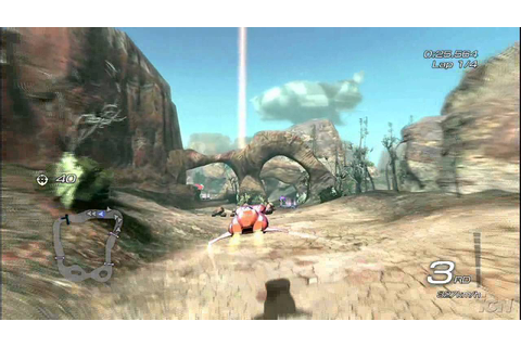 Fatal Inertia EX PlayStation 3 Gameplay - Rock Slides (HD ...