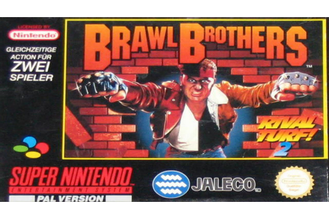 Snes Longplay | Brawl Brothers | ( Rival Turf! 2 ) - YouTube