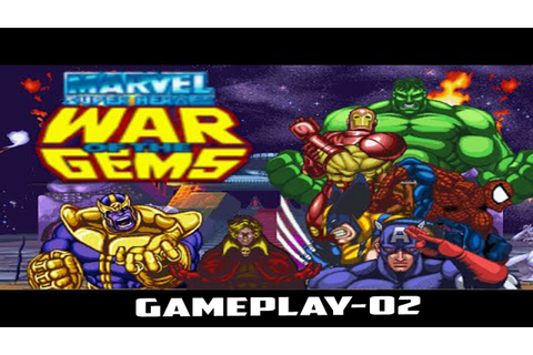 Marvel Super Heroes: War of the Gems-Gameplay-02 - YouTube