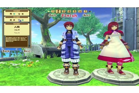 Grandia Online Character Creation - YouTube