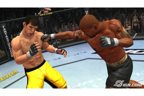 "UFC video game ""Undisputed"" to arrive in spring of 2009 ..."