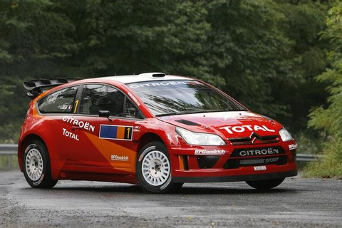 2007 Citroen C4 WRC | car review @ Top Speed