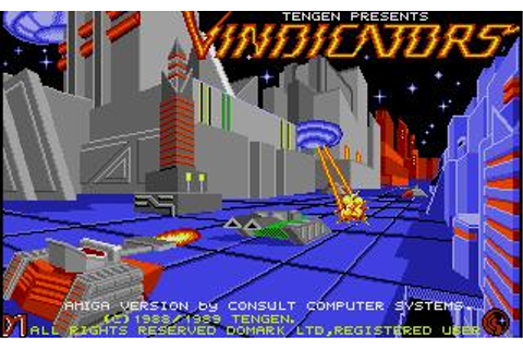 Vindicators Download (1989 Amiga Game)