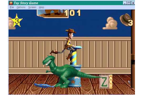 toy story 1 action game gameplay - YouTube