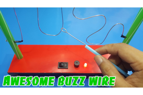 Awesome buzz wire game for kids - YouTube