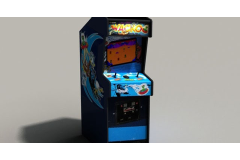 DOMAWE.net: Wacko Arcade Game Machine 3D Model Free Download