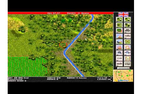 Steel Panthers: World at War gameplay (PC Game, 2000 ...