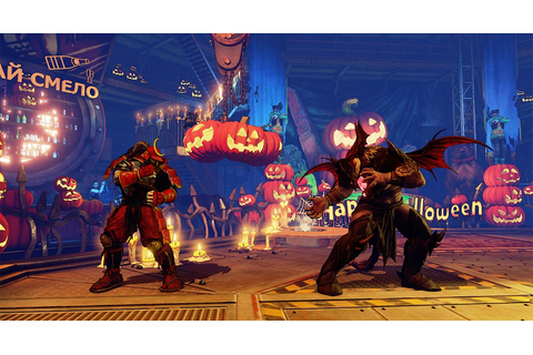 Street Fighter 5 bird-kicks off Halloween update season ...