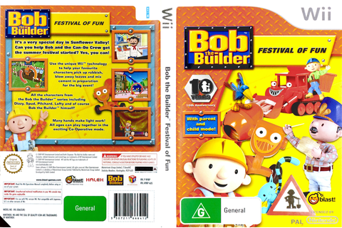 R9BPMT - Bob the Builder: Festival of Fun