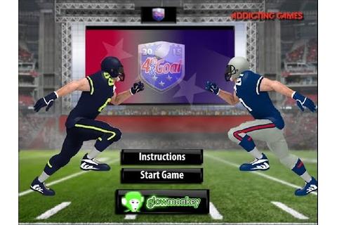 4th And Goal 2015 Gameplay Football Flash Game - YouTube