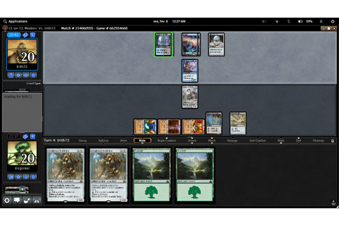 Magic The Gathering Online - Lutris