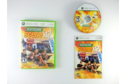 Scene it? Box Office Smash game for Xbox 360 (Complete ...