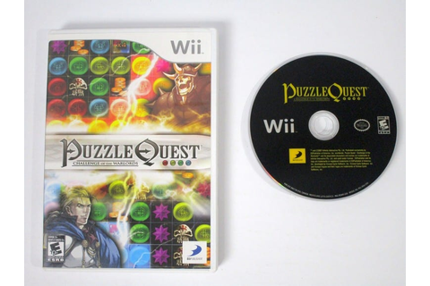 Puzzle Quest Challenge of the Warlords game for Wii | The ...