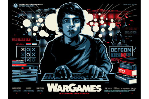 INSIDE THE ROCK POSTER FRAME BLOG: War Games Movie Poster ...