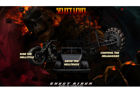 Games ghost rider