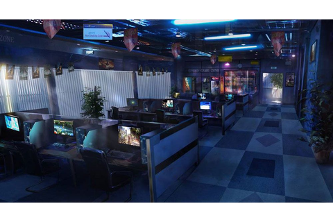 Internet Cafe | The Sims 2 design ideas in 2019 | Game ...