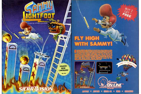 Sammy Lightfoot | Top 80's Games