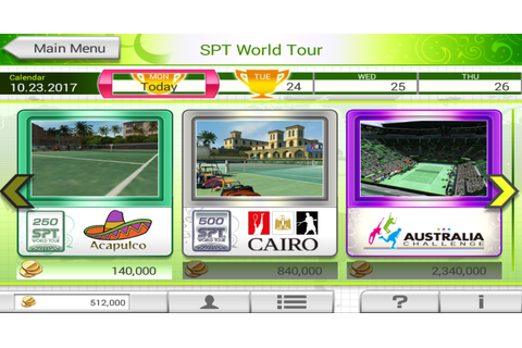 Game Android Virtua Tennis Challenge Apk + Data | GO GAMING