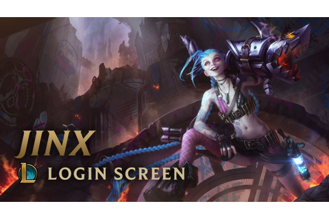 Jinx, the Loose Cannon (ft. Djerv) | Login Screen - League ...