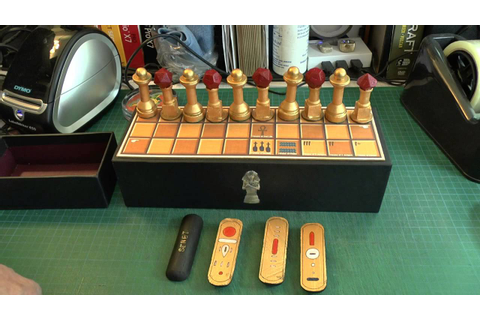 Senet Ancient Egyptian Board Game 01 - YouTube