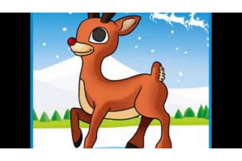 Rudolph The Red Nosed Reindeer(Lyrics) - YouTube