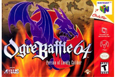 Ogre Battle 64: Person of Lordly Caliber - Wikipedia