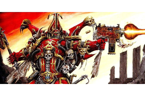 How You Shouls Play Bezerkers? World Eaters Review ...