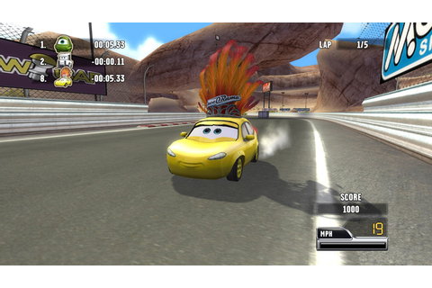 Amazon.com: Cars Race O Rama - Nintendo DS: Video Games