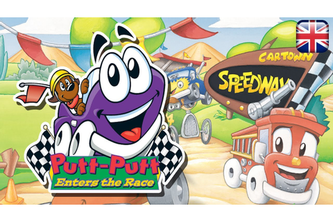 Putt-Putt Enters the Race - English Longplay - No ...