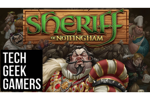 Let's Play Sheriff of Nottingham - Board Game Play Through ...