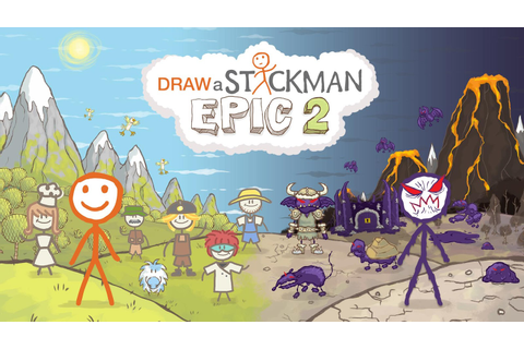Draw a Stickman: EPIC 2 Free - Android Apps on Google Play
