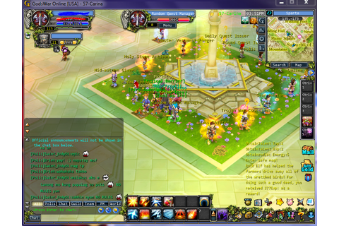 Godswar Online FB: Random Quest Bug Tutorial : let ur mind ...